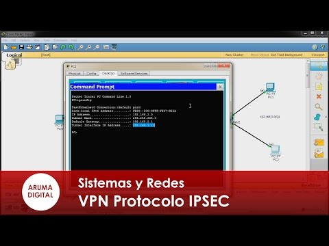 Redes 179 VPN Protocolo IPSEC y acceso remoto