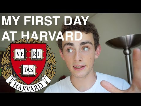 MY FIRST DAY AT HARVARD