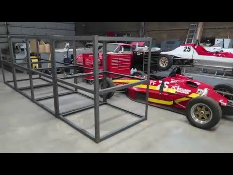 Real World Welding - Fabricating five foot triple stack steel shelving units.