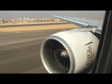 EMIRATES BUSINESS CLASS | CAIRO - DUBAI | BOEING 777-300ER