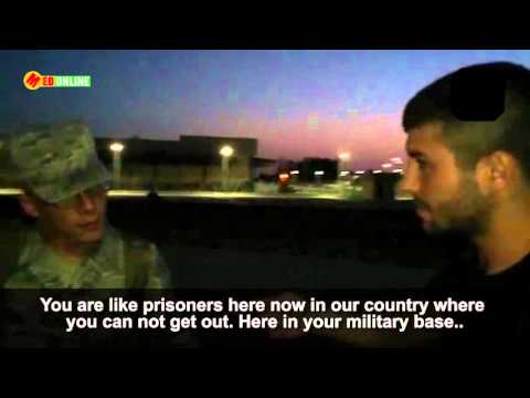 Turks entered the Incirlik air base and confronted an american soldier