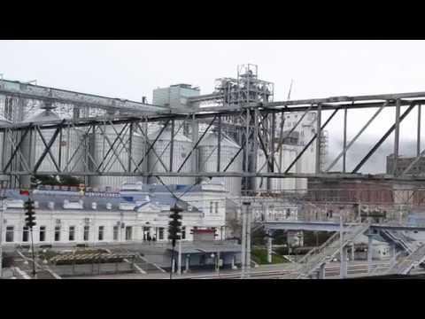 Железнодорожная станция Новороссийск.