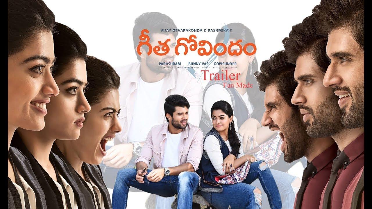 Geetha Govindam Theatrical Trailer || Vijay Deverakonda || Rashmika  Mandanna || Fan Made - YouTube