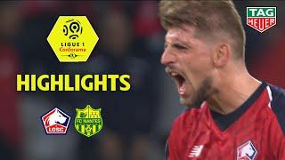 LOSC - FC Nantes ( 2-1 ) - Highlights - (LOSC - FC