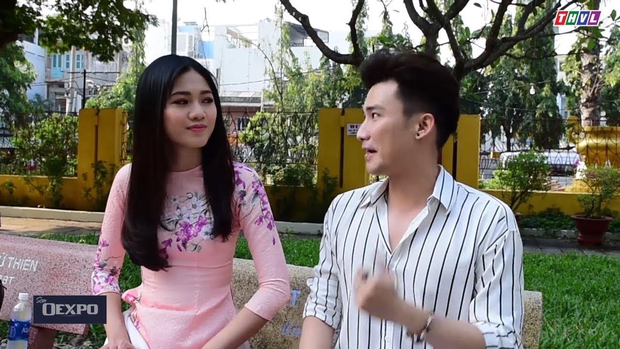 Á hậu Thanh Tú phiên bản 'ĐÒI QUÀ' cùng Chí Thiện trong hậu trường HTVHV  tập 55