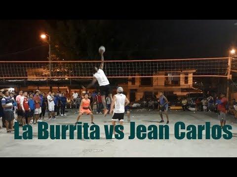 Ecuavoley: La Burrita(dos manos) vs Jean Carlos