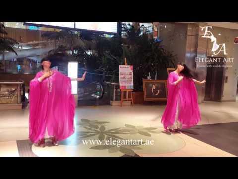 Khaleeji (khaleegy) dance in Dubai by Elegant Art Events, UAE