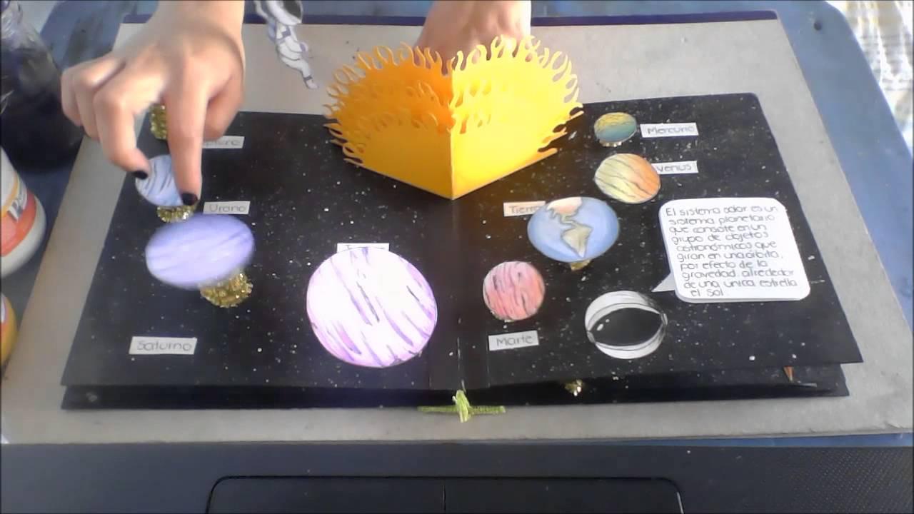 Libro popup el universo youtube for Crear mi casa en 3d