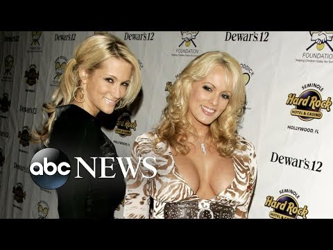 Fellow porn actress backs Stormy Daniels' claim of threat