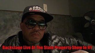 Backstage Live At The State Property Show In NY (Beanie Sigel, Peedi Crakk, Freeway & More)