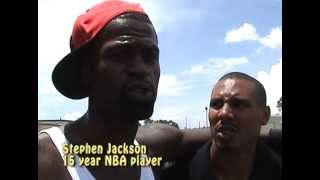 Dwayne Rogers One of the Top Streetballers of All-Time (Buy DVD at www.gotmix.net)