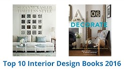 10 Best Interior Design Books 2016