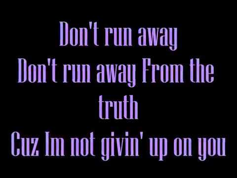 Don't run away Lyrics Let It Shine