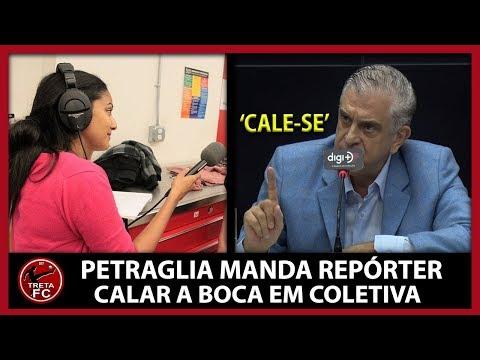 PRESIDENTE DO ATHLETICO MANDA REPÓRTER CALAR A BOCA EM COLETIVA DE IMPRENSA