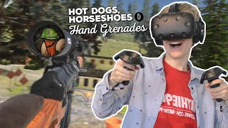GARDEN WARFARE IN VR | Hot Dogs, Horseshoes & Hand Grenades (HTC Vive Gameplay)