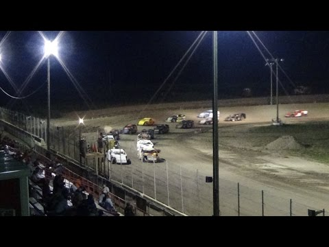 Pro Mod Feature Race at I-96 Speedway, Michigan on 08-25-16.