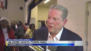 Former VP Al Gore host environmental justice town hall in Alabama