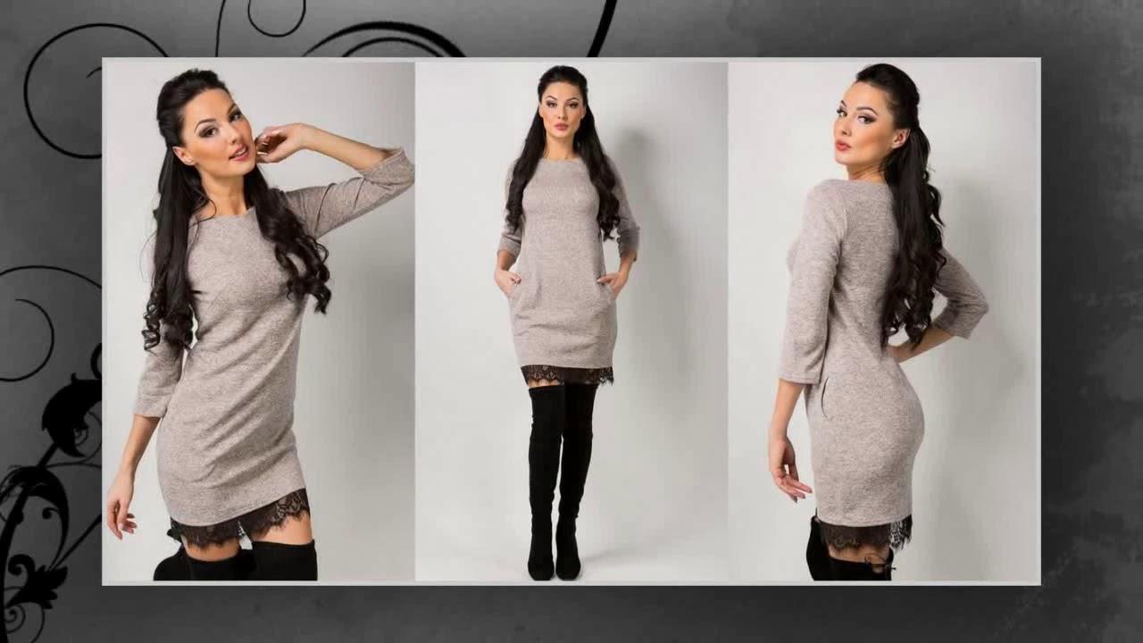 фото платья осень-зима
