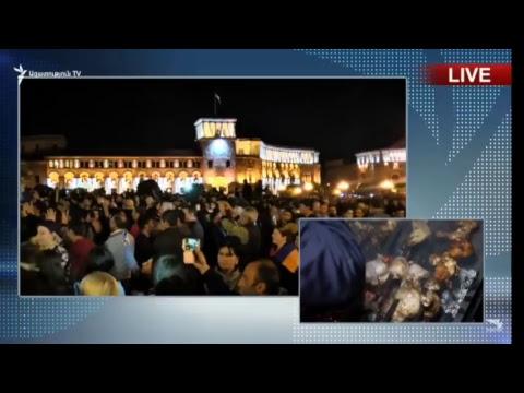 Победа!!!!!!!! Ուղիղ միացում Երևանից | LIVE from Yerevan | Прямaя трансляция из Еревана