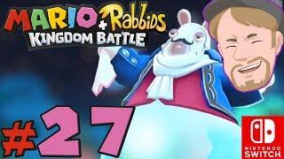 BOSS Phantom! | Mario + Rabbids Kingdom Battle På Svenska | Med Danne | Del 27