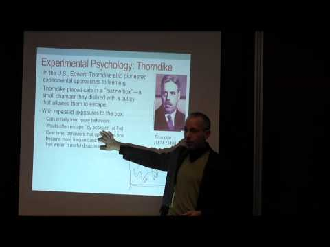 The Psychology of Learning and Memory - Lecture 2