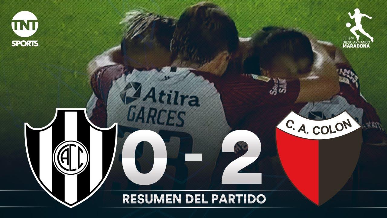 Resumen de Central Córdoba SE vs Colón SF (0-2) | Fecha 6 | Zona 2 - Copa Diego Armando Maradona