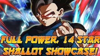 DESTRUCTIVE Full Power! 14 Star Shallot Showcase! | Dragon Ball Legends