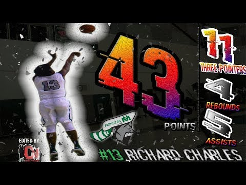 INSANE HISTORICAL 43 POINT GAME!! C/O 2019 CHUCKY BREAKS 3 ALL-TIME RECORDS AT THE JR ORANGE CLASSIC