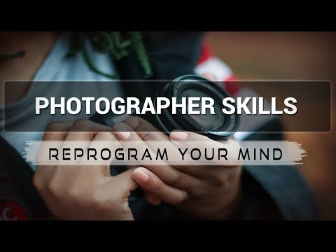 Photographer Skills affirmations mp3 music audio - Law of attraction - Hypnosis - Subliminal