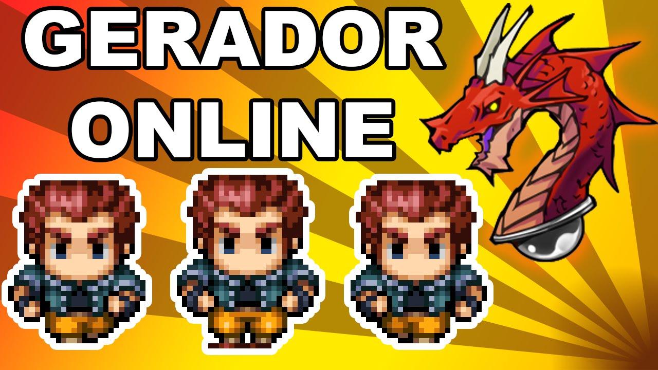 Gerador de Characters online - RPG Maker VX Ace