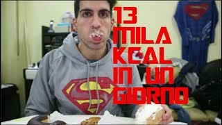 Full day of Cheating  13 mila KCAL