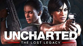 UNCHARTED THE LOST LEGACY All Cutscenes PS4 PRO Game Movie 1080p 60FPS