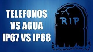Puede tu Teléfono sobrevivir al Agua? QUE ES IP67 Y IP68???