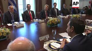 Trump Praises Greece as PM Visits White House