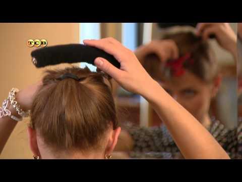 причёска Бабетта сферическая