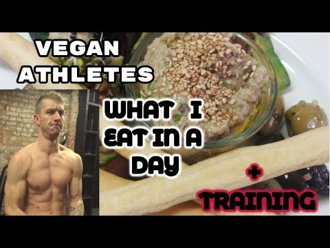 Vegan Athletes| What I EAT in a Day