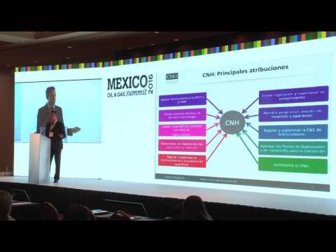 Mexico Oil &  Gas Summit 2016 - Contract administration and CNH's operational framework