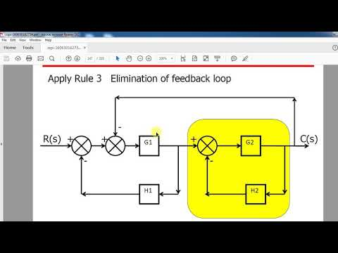 Block diagram reduction - YouTubeYouTube