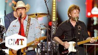 """Brooks & Dunn, Jon Pardi Perform """"My Next Broken Heart""""   CMT Crossroads"""