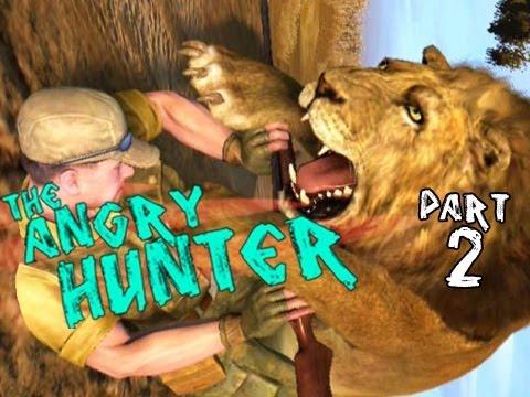 Angry Hunter - iPhone Factory Lions - Cabela's Dangerous Hunts 2009 Part 2