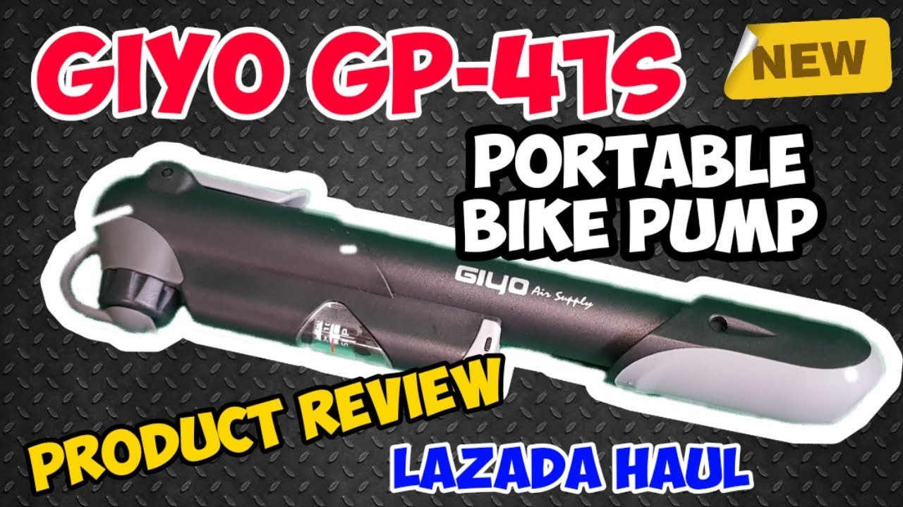Download GIYO GP-41S Portable Bike Pump Product Review | Bike pump for presta and schrader valve