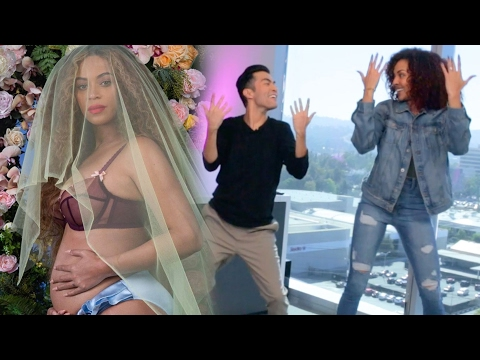 Download Youtube: Beyonce Pregnant With Twins! To Celebrate, ET Tries To Dance Like Beyonce.