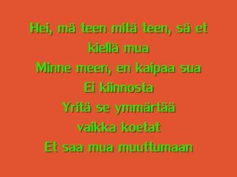 Katri Ylander - Ei Kiinnosta + lyrics