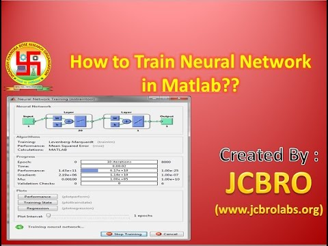 How to train neural Network in Matlab ??