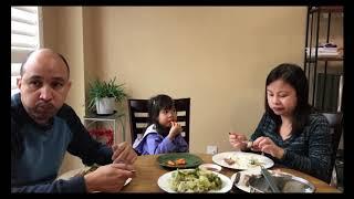 Cơm Việt Xa Xứ của Vợ Việt Chồng Tây--Dưa cải muối chua và thịt heo quay // Cuộc Sống Canada