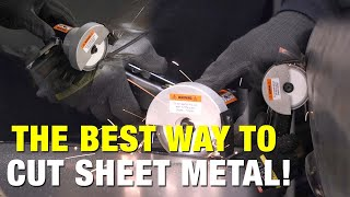 The MOST ACCURATE Way to Cut Sheet Metal - ON or OFF Vehicle! Elite Panel Cutting Saw! Eastwood