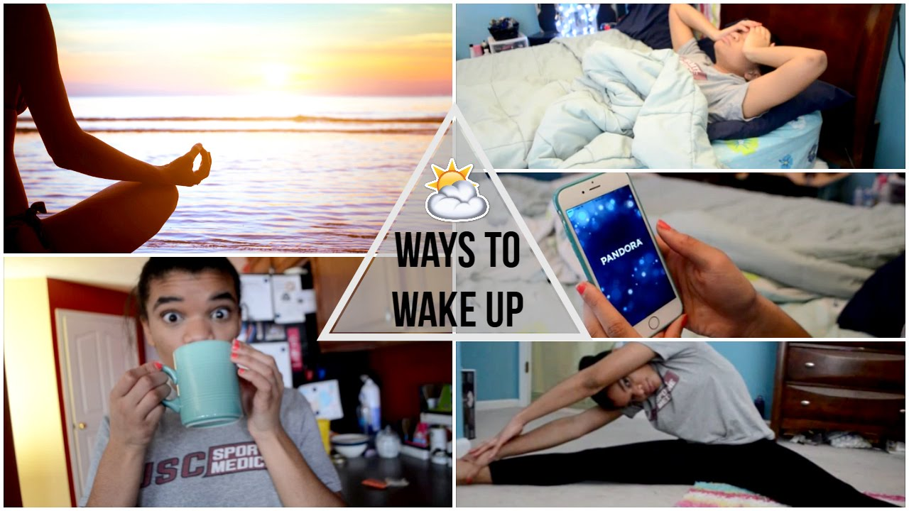 Ways To Wake Up Get Out Of Bed Quick In The Morning