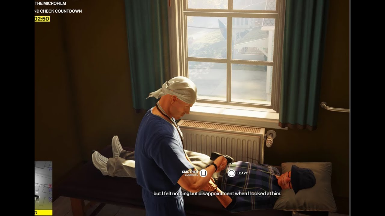 Hitman 2 How To Pillow Kill Janus And Escape The Study Room Apple A Day Guide Youtube