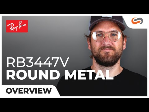Ray-Ban RB3447V Round Metal Overview | SportRx