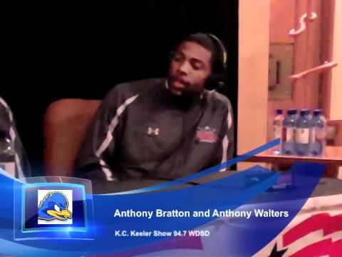 Anthony Bratton and Anthony Walters on the K.C. Keeler